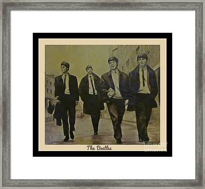Memories Of The Sixties Framed Print