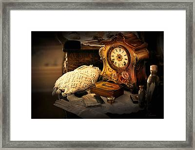 Memories Of Times Past  Framed Print by Maria Angelica Maira
