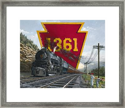 Memories Relived Framed Print by David Mittner