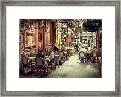 Memory Lane Arcanum Edition Framed Print