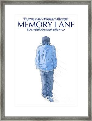 Memory Lane I Framed Print by Tuan HollaBack