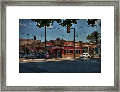 Memphis - Arcade Restaurant 001 Framed Print by Lance Vaughn