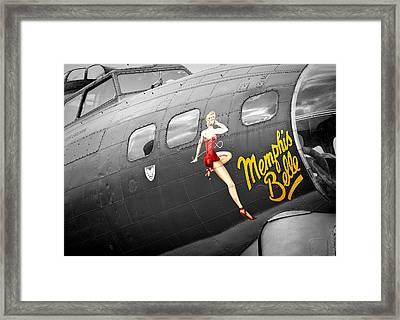 Memphis Belle Framed Print