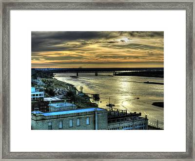 Memphis Fall Hdr 003 Framed Print