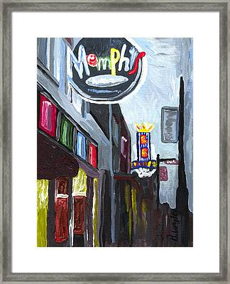 Memphis Framed Print by Helena M Langley
