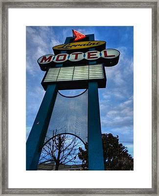 Memphis - Lorraine Motel 001 Framed Print by Lance Vaughn