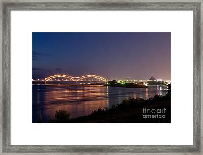 Memphis Framed Print by Miguel Celis