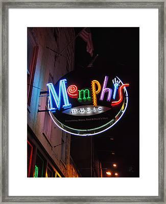 Memphis Music 002 Framed Print