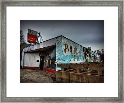 Memphis - P And H Cafe 001 Framed Print by Lance Vaughn