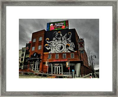 Memphis - Rock 'n' Soul Museum 001 Framed Print