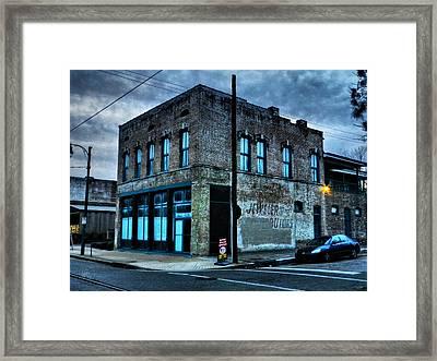 Memphis - South Main 001 Framed Print