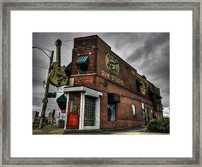 Memphis - Sun Studio 001 Framed Print