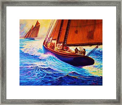 Men Of Gloucester Framed Print