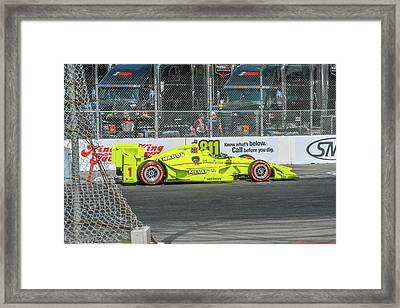 Menards Grand Prix Racing Framed Print