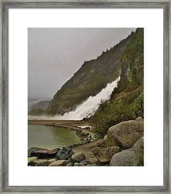Mendenhall Glacier Park Framed Print