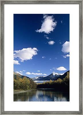 Mendenhall River Framed Print