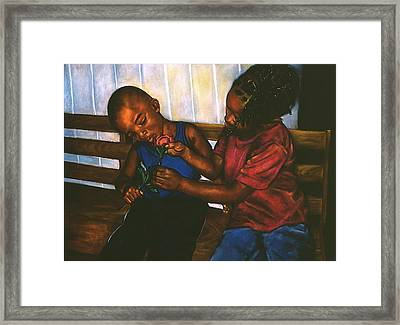Mending Hearts Framed Print by Curtis James