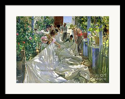 In The Shade Framed Prints