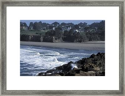 Mendocino  Framed Print by Stan and Anne Foster