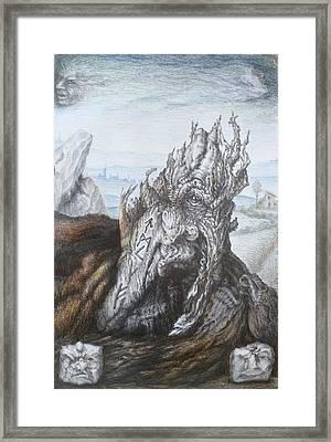 Menhir 4 Framed Print