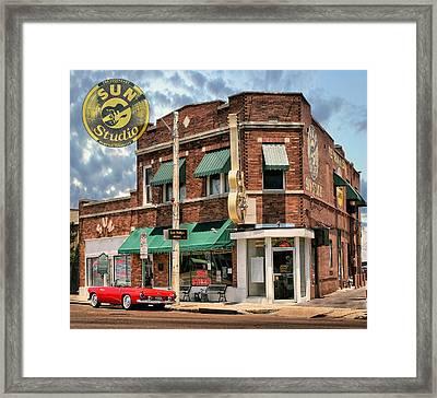 Memphis - Sun Studio Framed Print by Hans Wolfgang Muller Leg