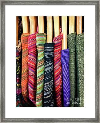Men's Kaftans Hanging Framed Print