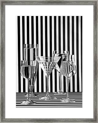 Mensonge Framed Print