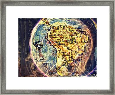 Mental Construction Framed Print