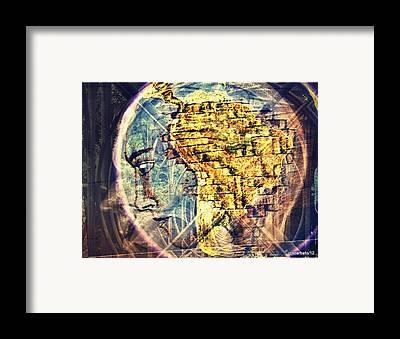 Spatial Organization Framed Prints