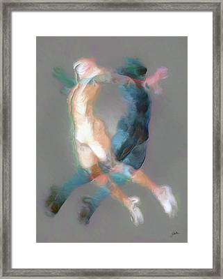 Mental Equilibrium Framed Print by Joaquin Abella