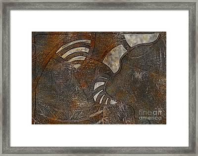 Mentally Inward Framed Print by Jason Ince
