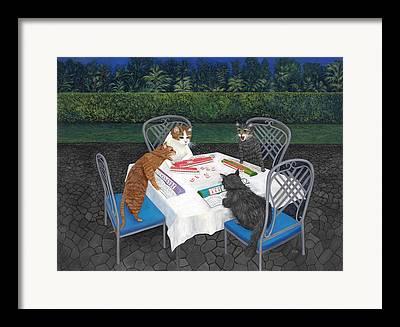 Arguing Framed Prints