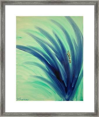 Mer An Ah Framed Print by Emerald GreenForest
