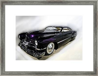 Merc Hot Rod Framed Print by Tom Griffithe