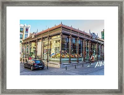 Mercado San Miguel, Madrid Framed Print