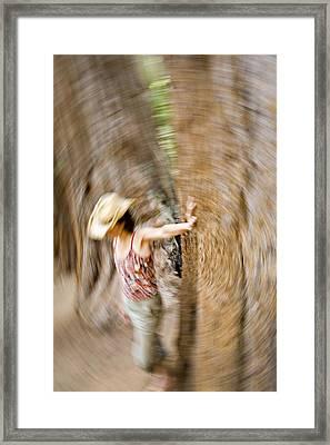 Merced Grove, Yosemite National Park, Ca Framed Print
