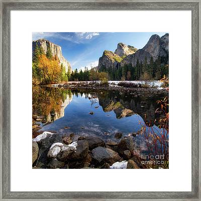 Merced Reflections Framed Print