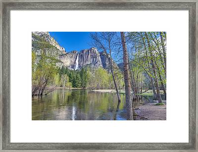 Framed Print featuring the photograph Merced River In Spring by Scott McGuire