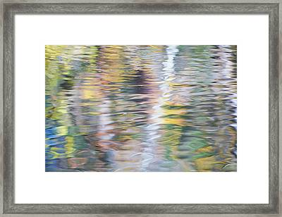 Merced River Reflections 10 Framed Print by Larry Marshall