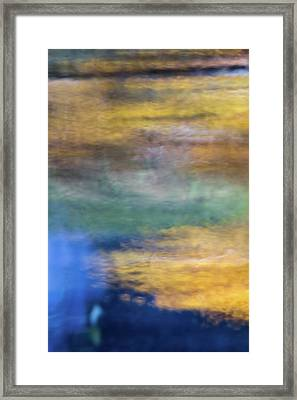 Merced River Reflections 13 Framed Print by Larry Marshall