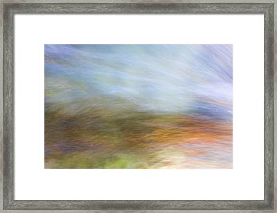 Merced River Reflections 21 Framed Print by Larry Marshall