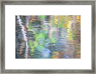 Merced River Reflections 9 Framed Print by Larry Marshall