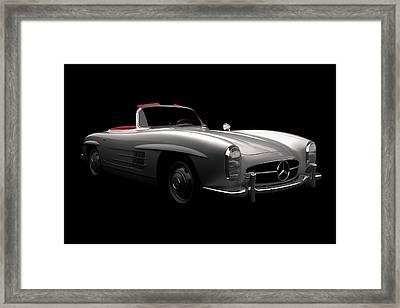 Mercedes 300 Sl Roadster Framed Print