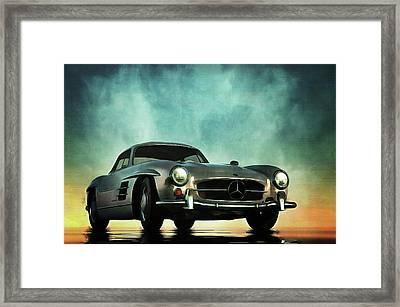 Mercedes 300sl Framed Print