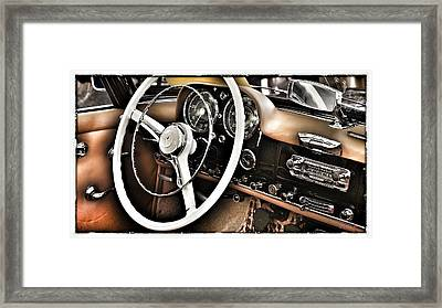 Mercedes Benz 190 Sl Framed Print