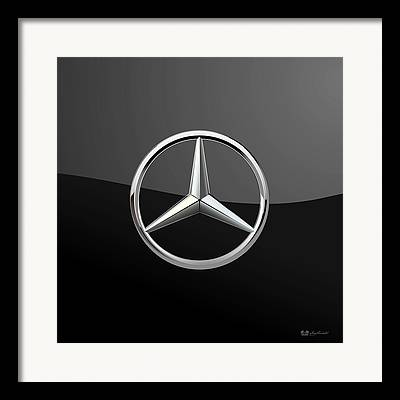 Car Insignia Framed Prints