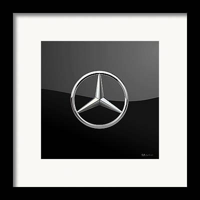 Mercedes Framed Prints