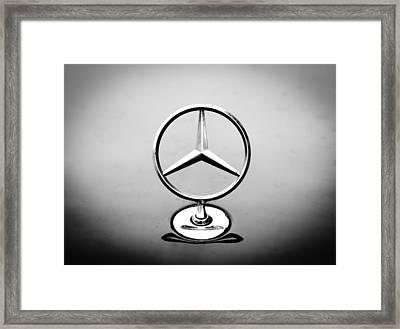 Mercedes Benz Logo Framed Print