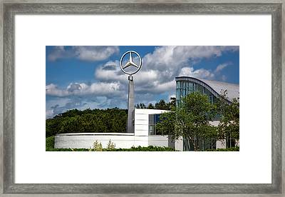 Mercedes - Benz Plant Framed Print by Mountain Dreams