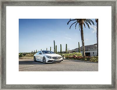 Mercedes Benz S63 Coupe Framed Print